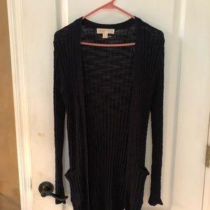 Michael Kors thin sweater jacket